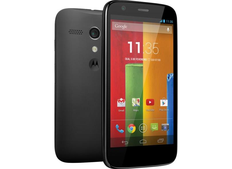 Smartphone Motorola Moto G XT1033 Câmera Desbloqueado 2 Chips Wi-Fi