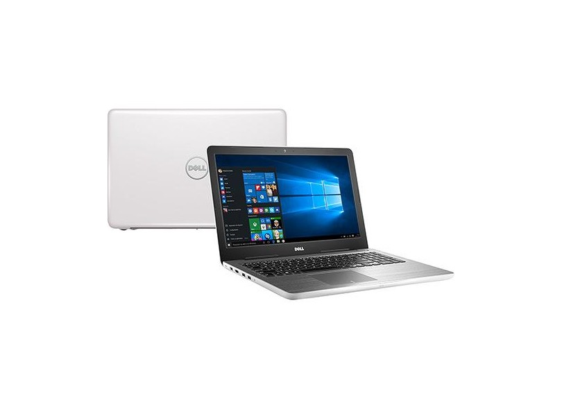 """Notebook Dell Inspiron 5000 Intel Core i5 7200U 7ª Geração 8GB de RAM HD 1 TB 15,6"""" Radeon R7 M445 Windows 10 Home I15-5567"""