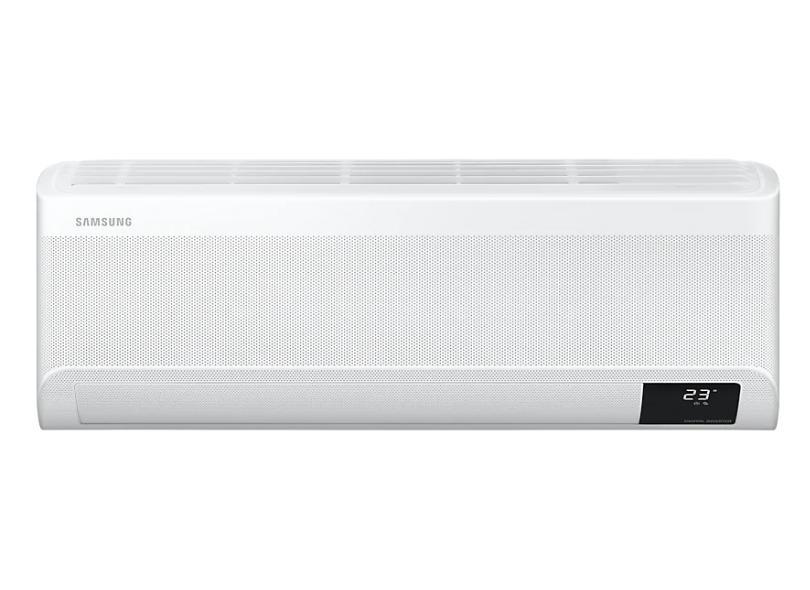 Ar-Condicionado Split Hi Wall Samsung Wind Free 9000 BTUs Inverter Controle Remoto Quente/Frio AR09TSEABWKNAZ