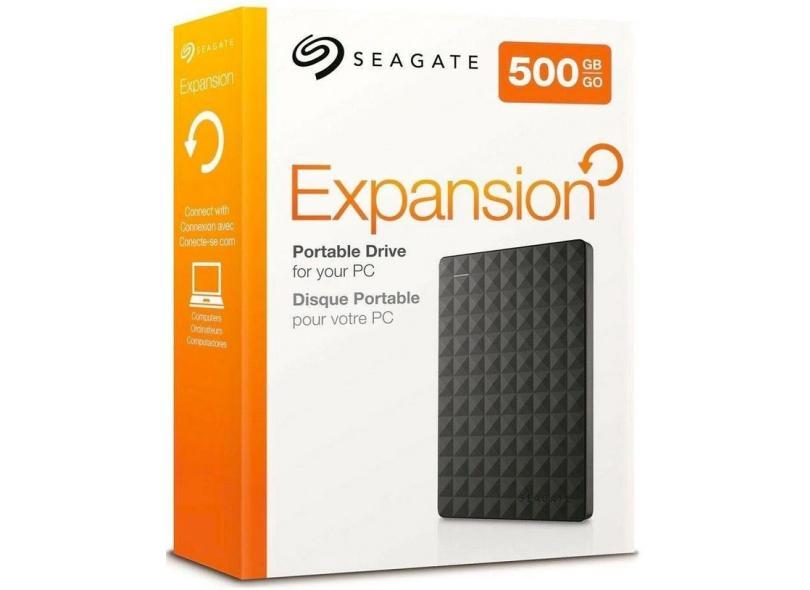 HD Externo Portátil Seagate Expansion STEA500400 500 GB