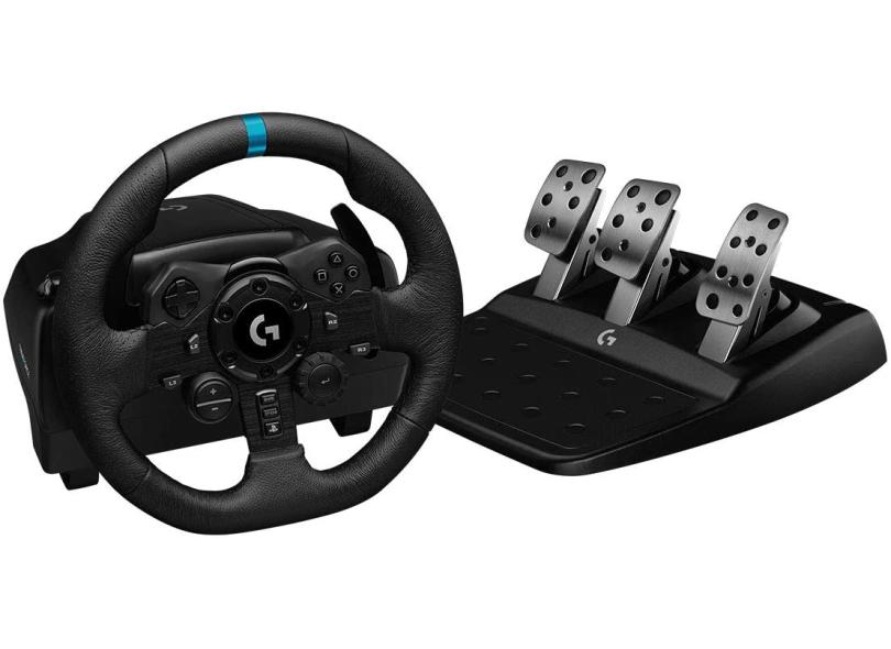 Volante PS5 PS4 PC G923 Force Feedback - Logitech