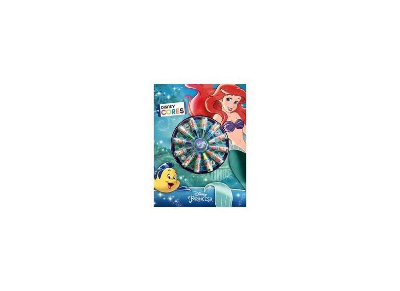 Cores - A Pequena Sereia - Disney - 9788536823690