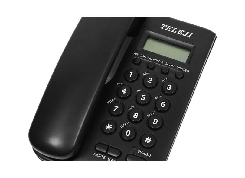 Telefone com Fio Teleji 46i
