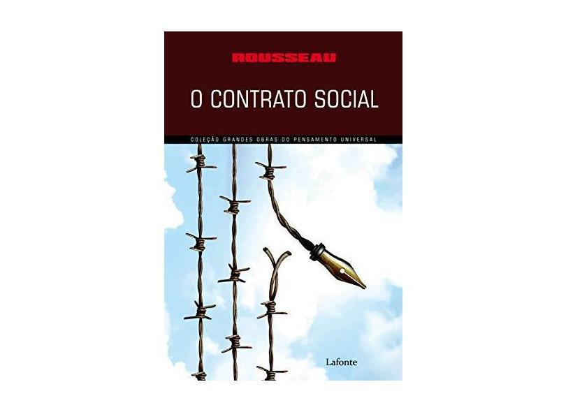 O Contrato Social - Rousseau - 9788581862989