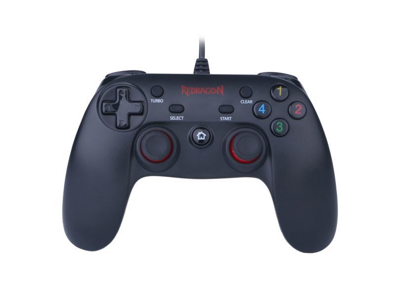 Controle PC PS3 Saturn - Redragon