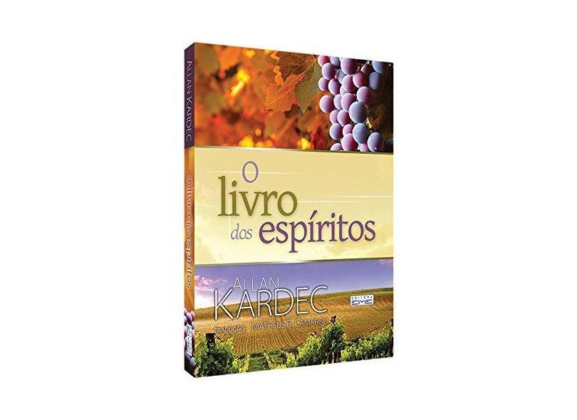 O Livro dos Espiritos - Capa Plastica - Kardec, Allan - 9788573532791