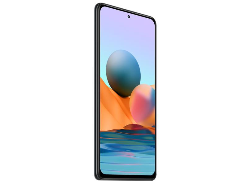 Smartphone Xiaomi Redmi Note 10 Pro 6GB RAM 128GB Câmera Quádrupla Qualcomm Snapdragon 732G 2 Chips Android 11