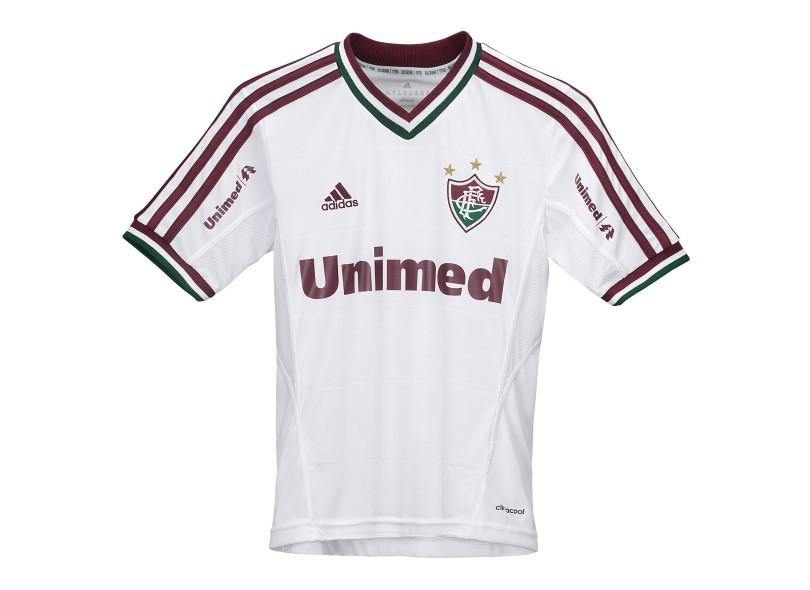 Camisa Jogo Fluminense II 2013 Infantil s/nº Adidas