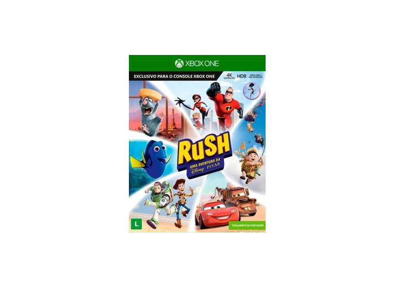 Jogo Rush Uma Aventura Da Disney Pixar Xbox One Asobo Studio