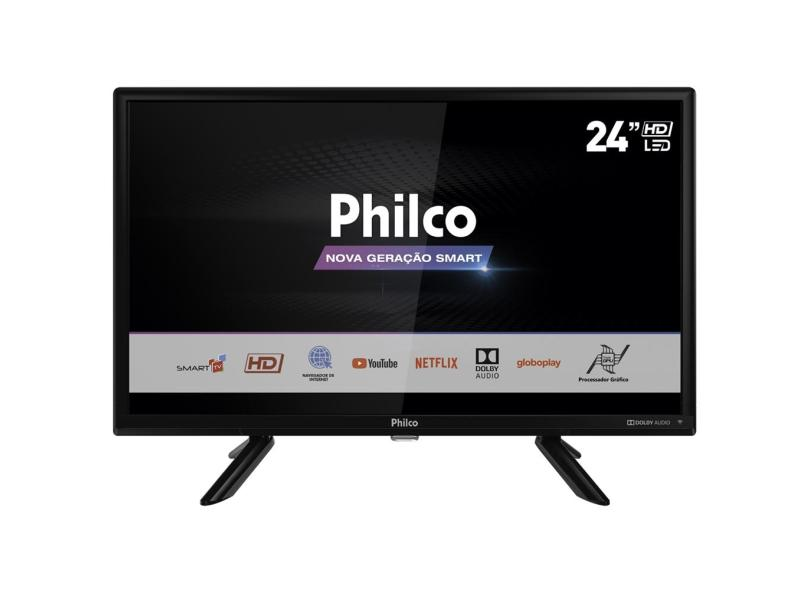 "Smart TV TV LED 24 "" Philco Netflix PTV24G50SN 2 HDMI"