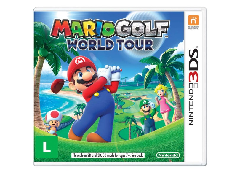 Jogo Mario Golf World Tour Nintendo Nintendo 3DS
