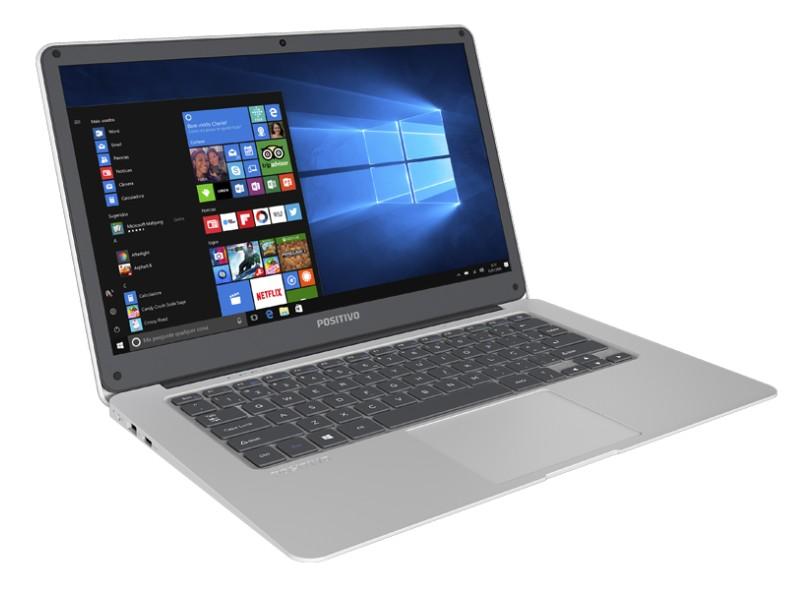 "Notebook Positivo Intel Atom x5 Z8350 2 GB de RAM 32.0 GB 14 "" Windows 10 q232a"