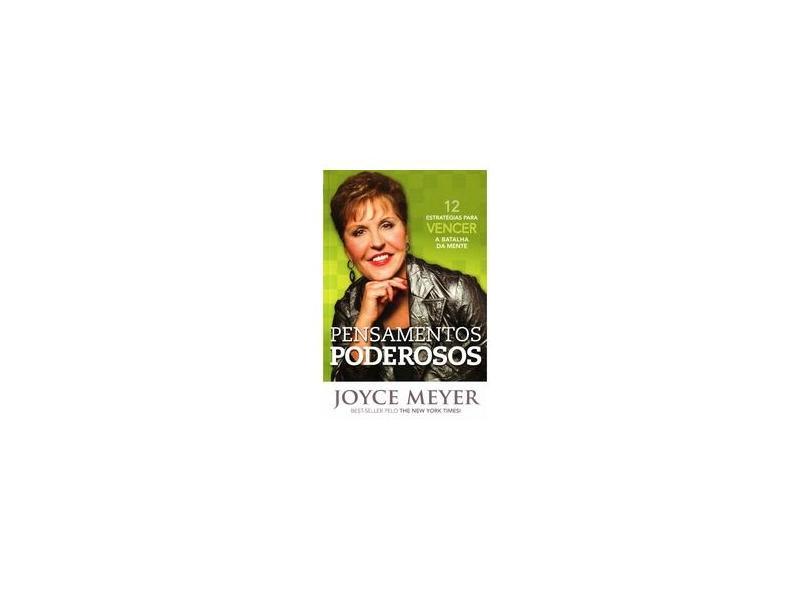 Pensamentos Poderosos - Meyer, Joyce - 9788561721688