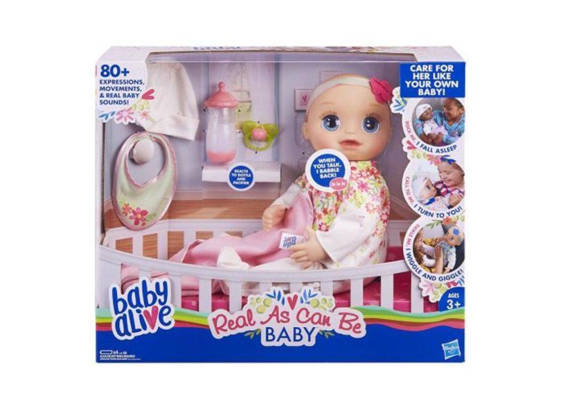 Boneca Baby Alive Meu Querido Bebê Hasbro