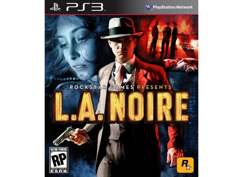 Jogo L.A. Noire Rockstar PS3