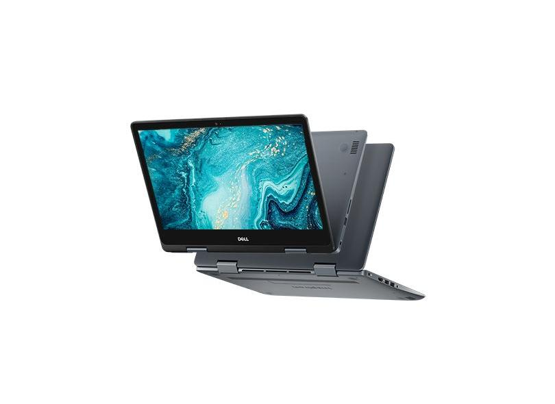 "Notebook Conversível Dell Inspiron 5000 Intel Core i3 8145U 8ª Geração 4 GB de RAM 128.0 GB 14 "" Touchscreen Windows 10 i14-5481-M11"