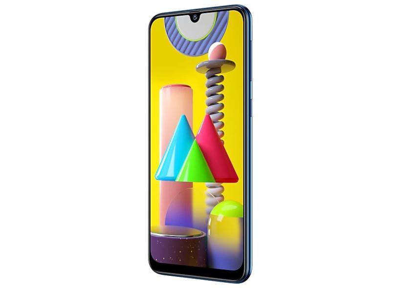 Smartphone Samsung Galaxy M31 128GB Câmera Quádrupla Exynos 9611 Android 10