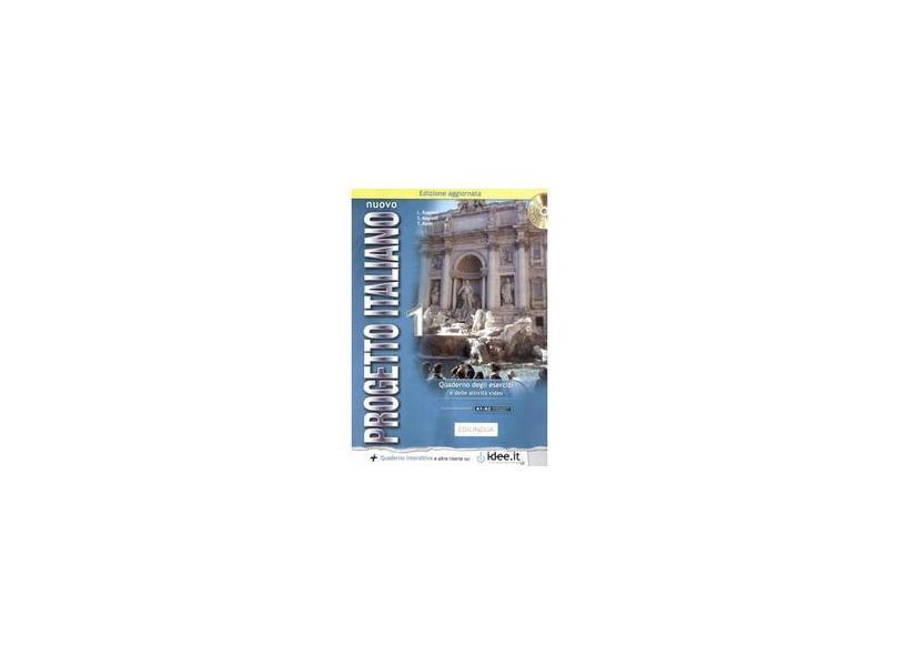 Nuovo Progetto Italiano:New Ed Quaderno Degli Esercizi 1 + CD-Audio (L - Capa Comum - 9789606931185