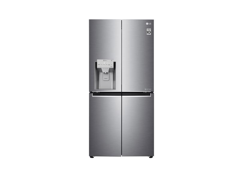 Geladeira LG LG ThinQ Frost Free French Door Inverse 428 l Inox APZFSBS