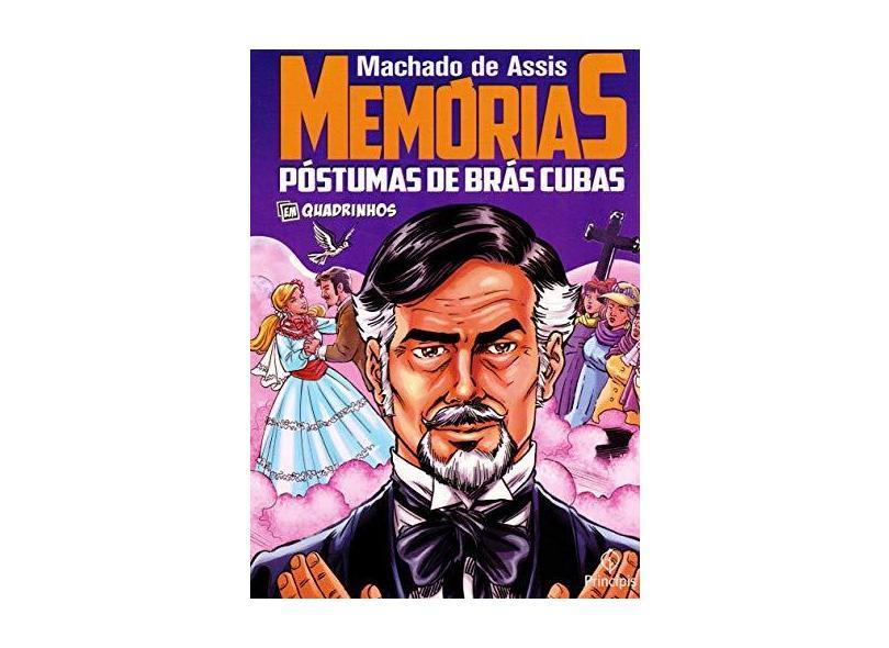 Memórias Póstumas de Brás Cubas: em Quadrinhos - Machado De Assis - 9788594318374