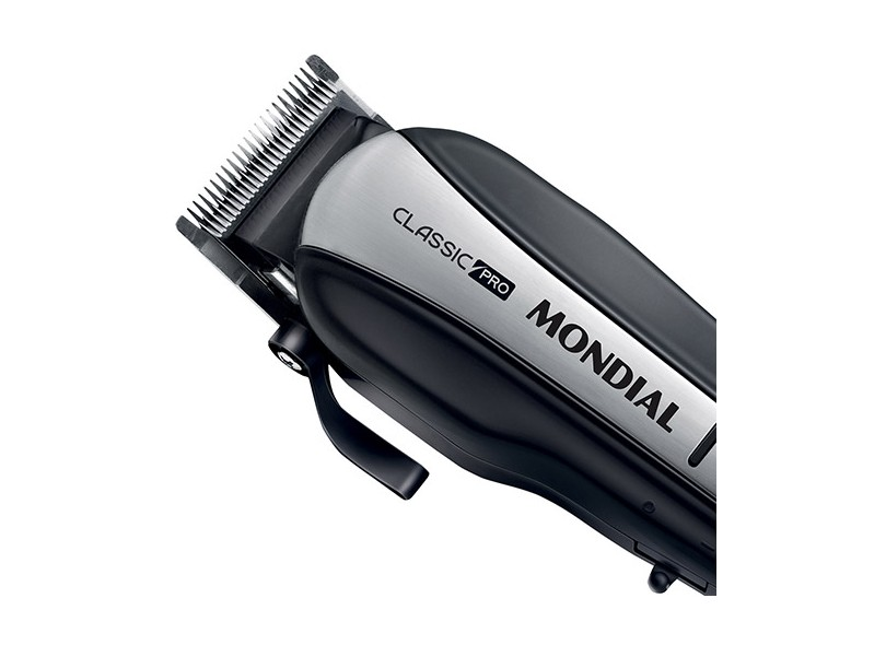 Máquina de Cortar Cabelo Mondial Classic Pro CR-03