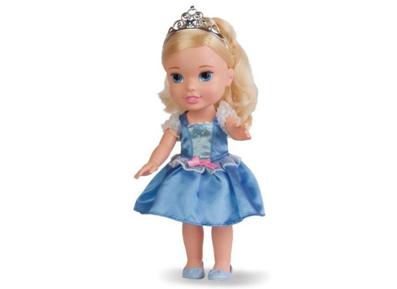Boneca Princesas Disney Minha Primeira Princesa Grande Cinderela Mimo