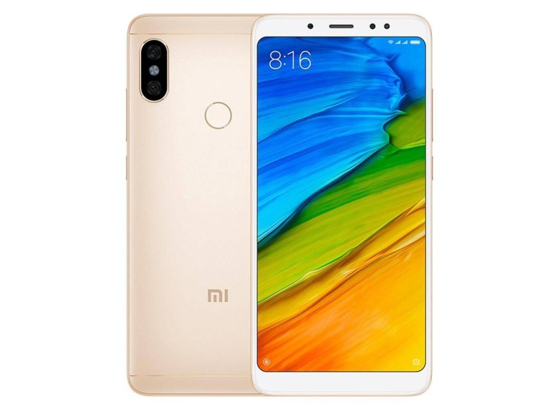 Smartphone Xiaomi Redmi Note 5 Dual 64GB 12 MP 2 Chips Android 8.0 (Oreo) 3G 4G Wi-Fi