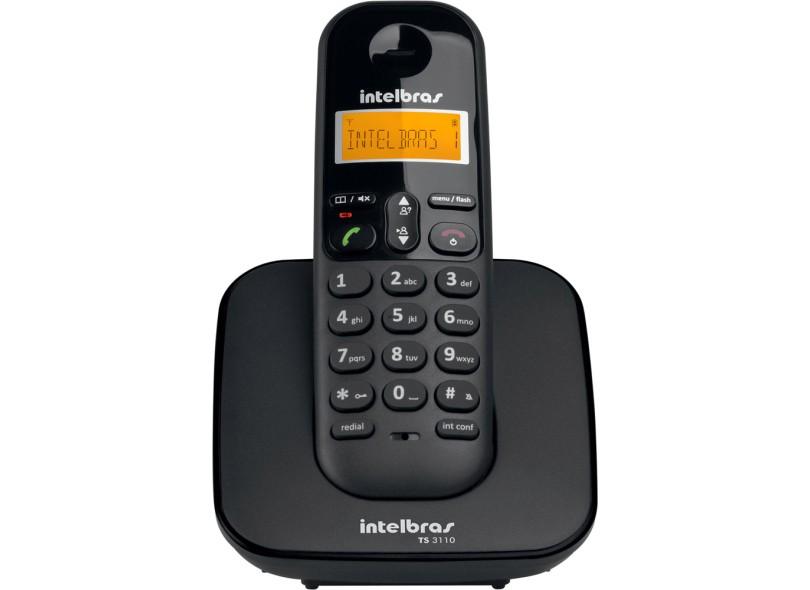 Telefone sem Fio Intelbras com 3 Ramais TS 3110