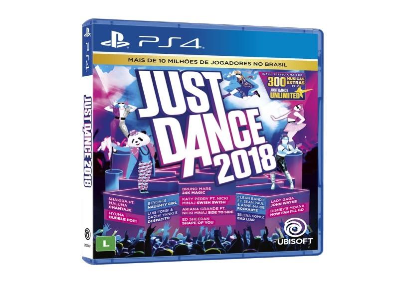Jogo Just Dance 2018 PS4 Ubisoft