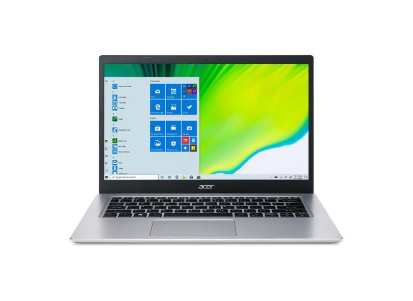 """Notebook Acer Aspire 5 Intel Core i3 1005G1 10ª Geração 8.0 GB de RAM 512.0 GB 14.0 """" Windows 10 A514-53-339S"""