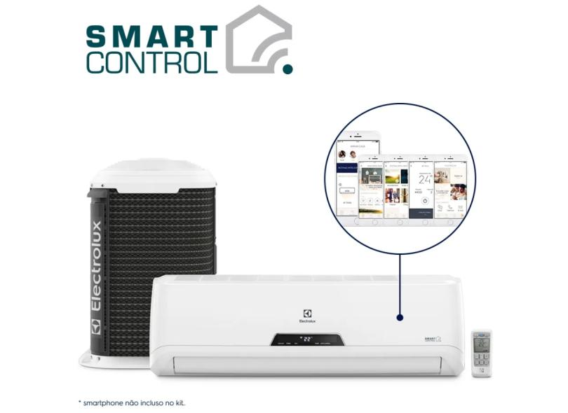 Ar-Condicionado Split Hi Wall Electrolux 12000 BTUs Inverter Controle Remoto Frio XI12F / XE12F