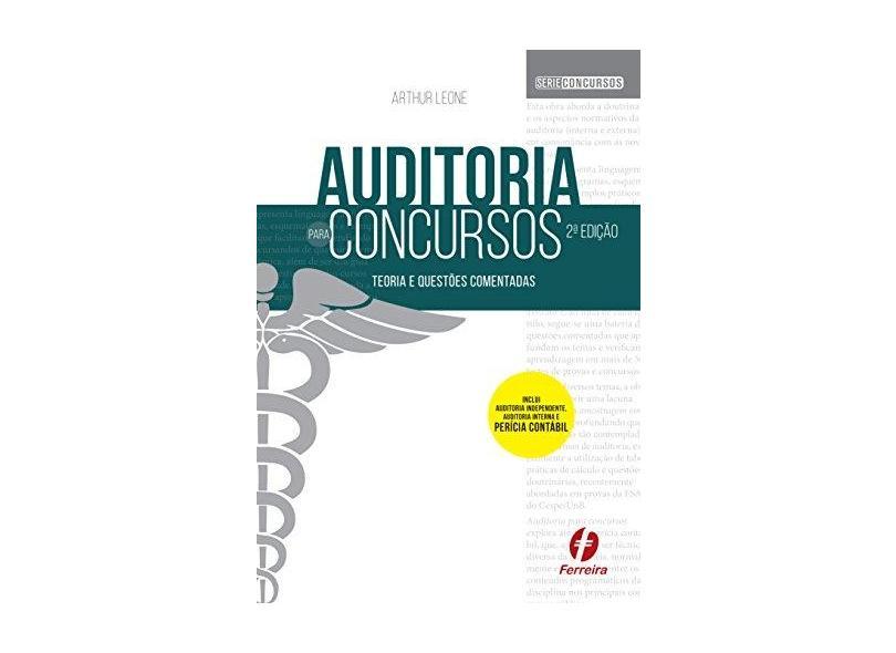 Auditoria Para Concursos - Teoria E Questões Comentadas - Leone,arthur - 9788578423971
