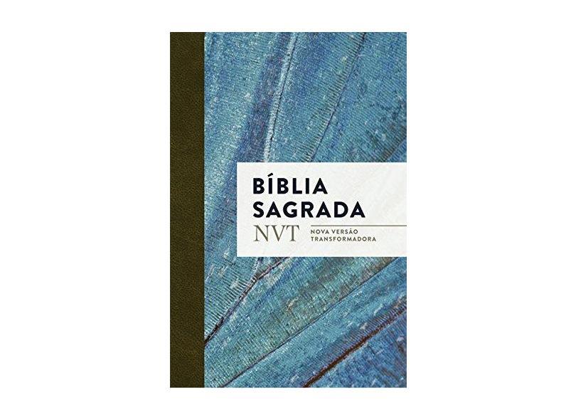 Bíblia Nvt Sagrada - Azul Claro - Mundo Cristão; - 7898950265531