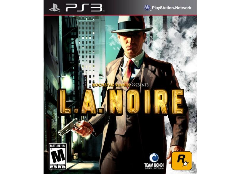 Jogo L.A. Noire PlayStation 3 Rockstar