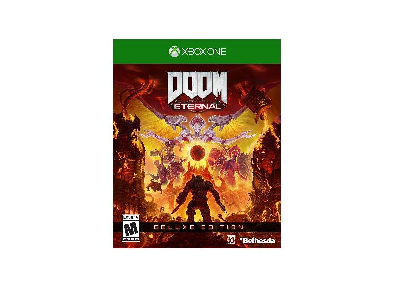 Jogo DOOM Eternal Deluxe Edição Xbox One Bethesda