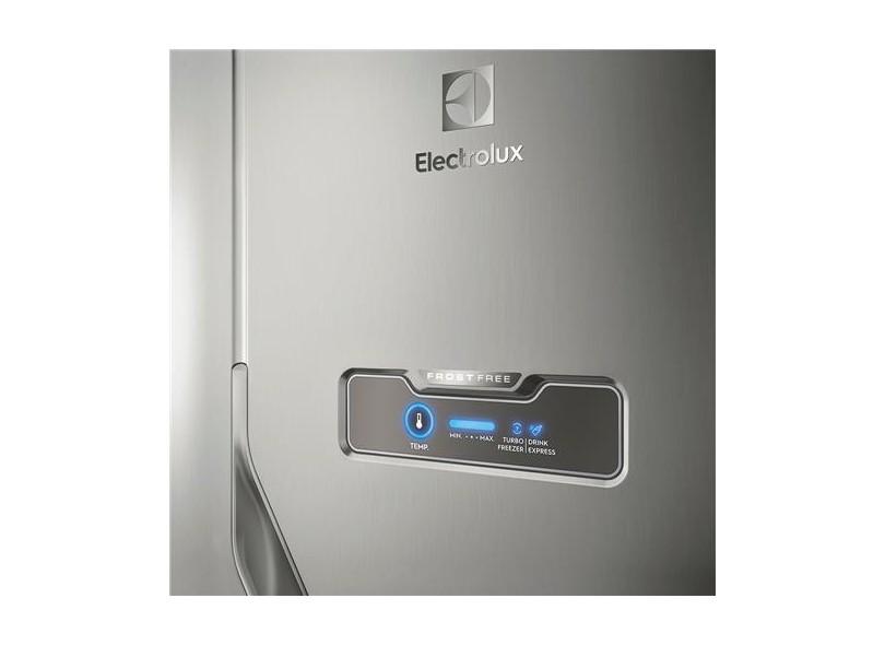 Geladeira Electrolux Frost Free Duplex 371 Litros Inox DFX41