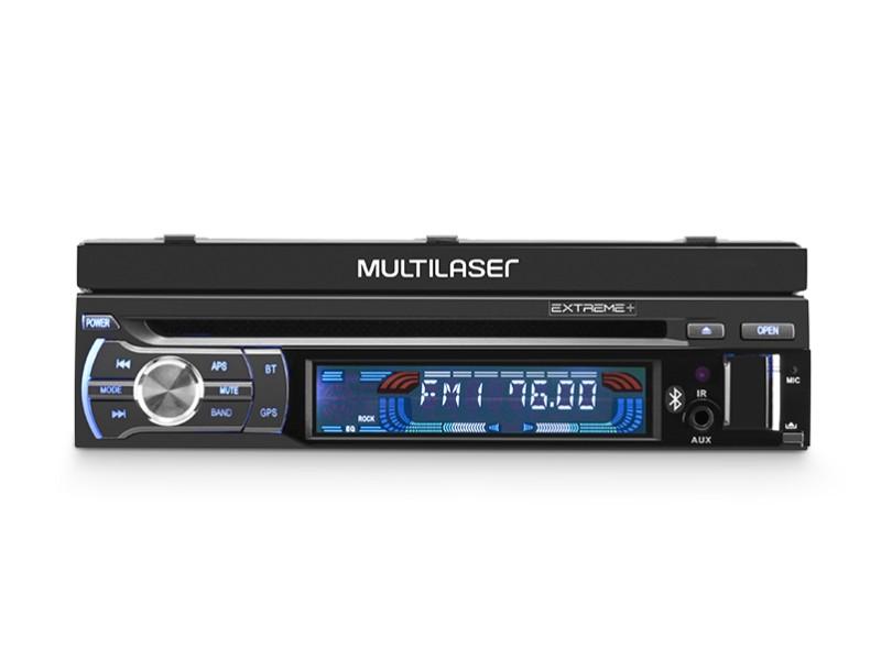 """DVD Player Automotivo Multilaser 7 """" GP044"""