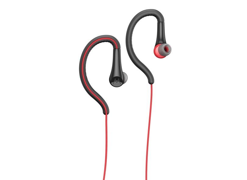 Fone de Ouvido com Microfone Academia Corrida Motorola Earbuds Sport