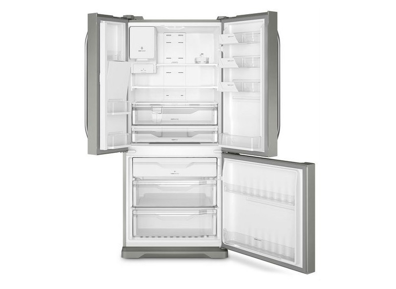 Geladeira Electrolux Frost Free French Door Inverse 579 l Inox DM84X