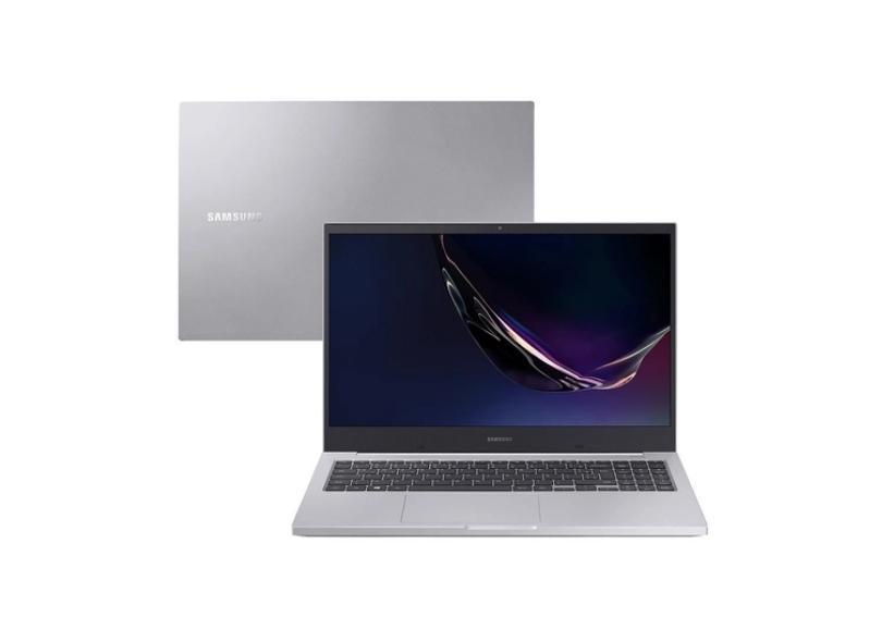 """Notebook Samsung Book E40 Intel Core i3 10110U 10ª Geração 4 GB de RAM 256.0 GB 15.6 """" Full Windows 10 NP550XCJ-KS1BR"""