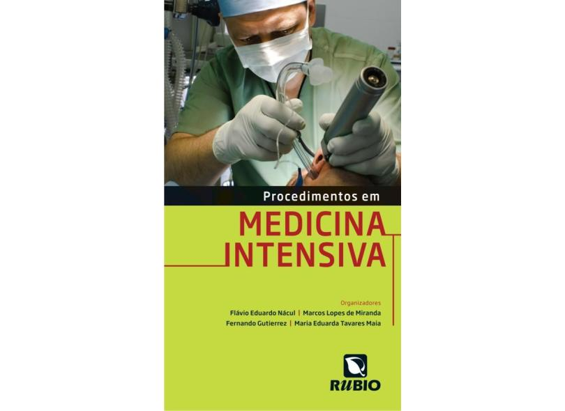 Procedimentos Em Medicina Intensiva - Capa Comum - 9788564956629