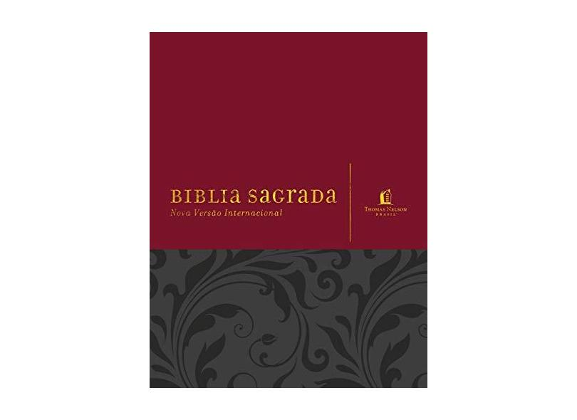 Bíblia Sagrada - Vermelha - Thomas Nelson Brasil - 9788578602178