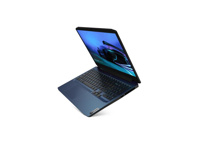 "Notebook Gamer Lenovo IdeaPad Intel Core i7 10750H 10ª Geração 16.0 GB de RAM Híbrido 512.0 GB 15.6 "" Full GeForce GTX 1650 Windows 10 Gaming 3i"