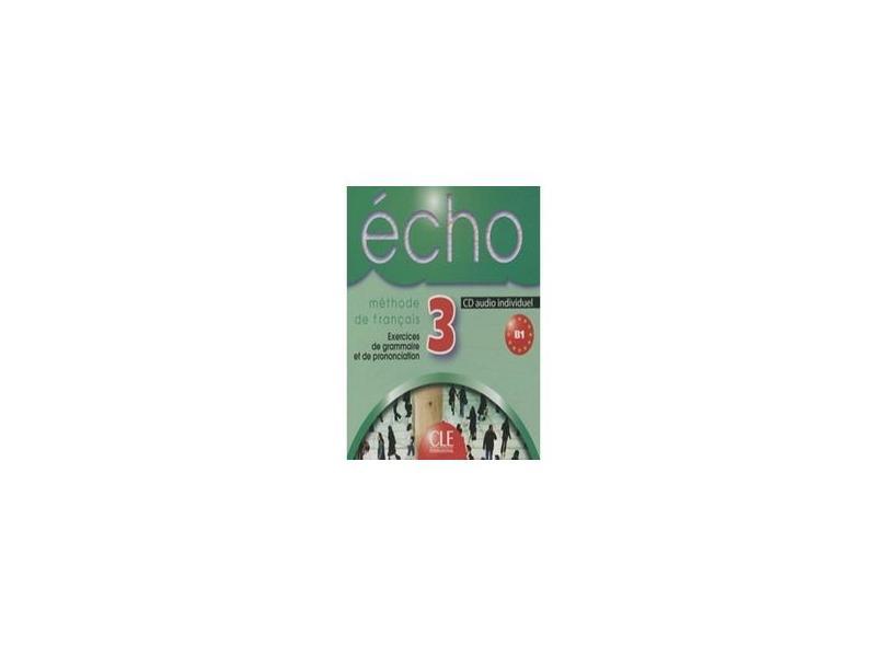"Cd Audio Individuel Echo - Niveau 3 - ""cle International"" - 9782090326581"