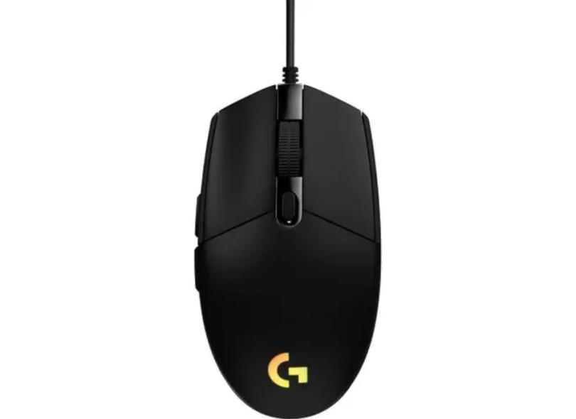 Mouse Gamer Óptico USB G203 - Logitech