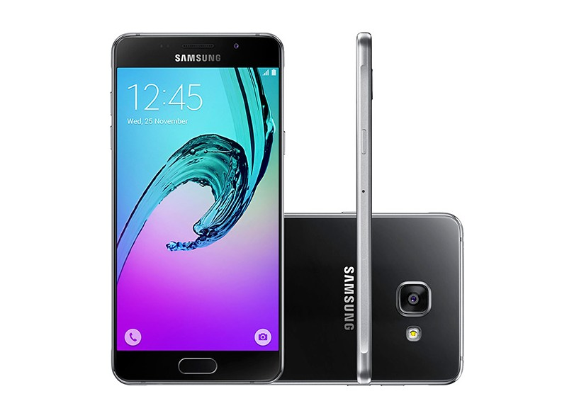 Smartphone Samsung Galaxy A5 2016 A510 13,0 MP 2 Chips 16GB Android 5.1 (Lollipop) 3G 4G Wi-Fi