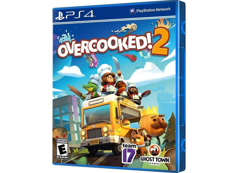 Jogo Overcooked 2 PS4 Ghost Town Games