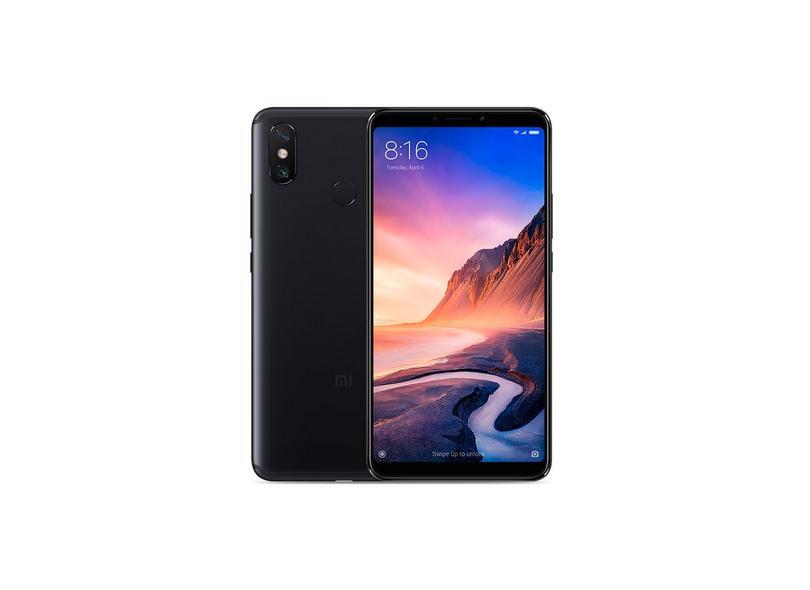 Smartphone Xiaomi Mi 3 Max Preto 64GB 8.0 MP 2 Chips Android 8.1 (Oreo) Wi-Fi 3G 4G