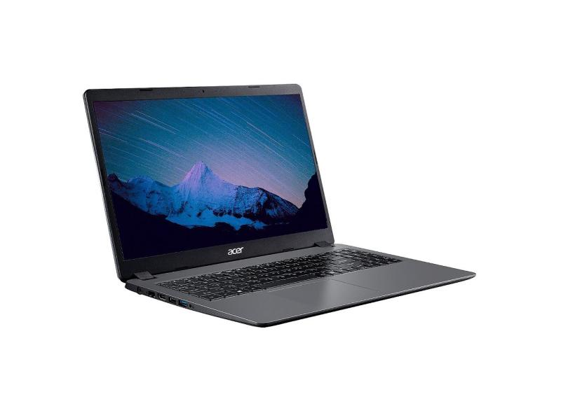 """Notebook Acer Aspire 3 Intel Core i3 1005G1 10ª Geração 4 GB de RAM 1024 GB 15.6 """" Windows 10 A315-56-36Z1"""