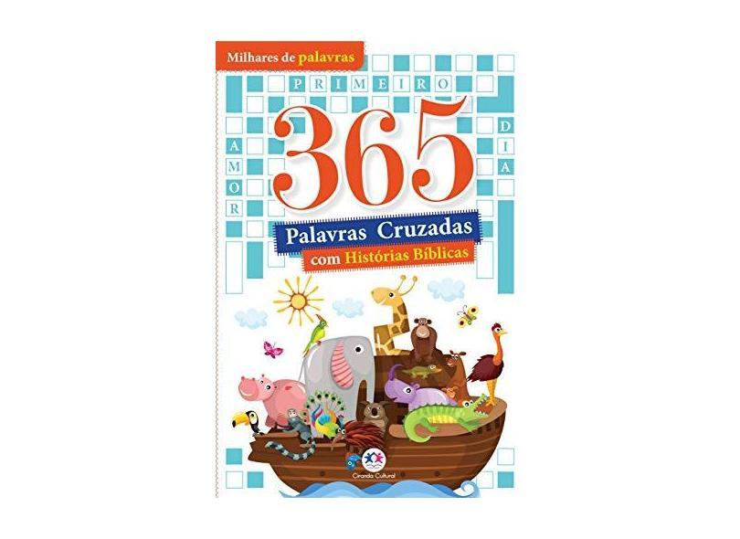 365 Palavras Cruzadas com Histórias Bíblicas - Ciranda Cultural - 9788538089742